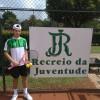 Tenista do Recreio da Juventude, de Caxias do Sul, participa de torneio na França