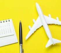 A antecedência ideal para comprar passagens aéreas