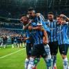 GOLEADA NA ARENA Grêmio aplica cinco no Santos e vence mais uma em casa