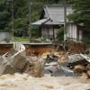 Fortes chuvas deixam pelo menos 20 mortos no Japão