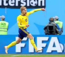 Suécia bate a Suíça e volta às quartas da Copa após 24 anos d77fb65863249