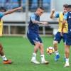 Grêmio finaliza trabalhos para decisão na Libertadores Tricolor decide vaga para as semifinais contra o Atlético Tucumán na Arena