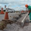 Pavimentação no sentido Caxias/Litoral da rótula da Codeca deve ser concluída no sábado