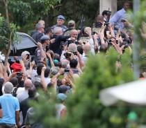 Lula deixa cemitério após velório de neto em São Bernardo do Campo