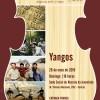 Yangos é a próxima atração dos Concertos ao Entardecer