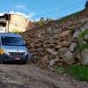 Contenção de pedras feita pela Smosp oferece estabilidade no loteamento Portinari