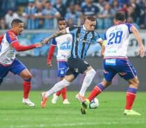 Grêmio empata com o Bahia e decide a vaga na Arena Fonte Nova na próxima quarta-feira