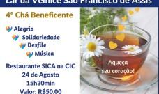 Chá Beneficente e desfile de modas em prol do Lar São Francisco de Assis