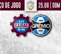 Caxias divulga serviço de jogo para partida diante do Grêmio