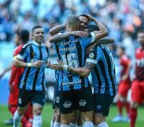 VITÓRIA Grêmio vence o Athletico-PR na Arena