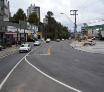 Prefeitura de Caxias do Sul conclui obra de mobilidade na avenida São Leopoldo