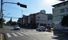 Esquina da avenida São Leopoldo com a rua Sapucaia terá tempo exclusivo para travessia de pedestres