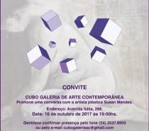Cubo Galeria de Arte Contemporânea, de Caxias do Sul, recebe a artista plástica Susan Mendes