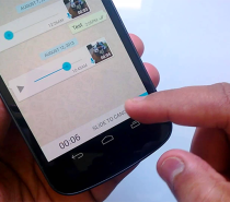TECNOLOGIA Como transcrever mensagens de áudio no WhatsApp no Android