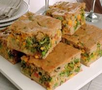 Receitas: Torta integral de legumes