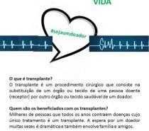 Círculo promove semana de conscientização sobre doação de órgãos