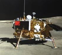 Sonda chinesa Chang'e-4 planta semente de algodão na Lua