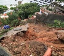 Sobe para cinco o número de mortos no Rio de Janeiro por causa das chuvas
