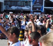 Galerinha Grená reúne cerca de 1000 crianças no Estádio Centenário