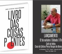 Poeta José Otavio Carlomagno realiza seu sexto lançamento literário, na Feira do Livro de Caxias