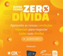 Super Feirão Zero Dívida traz oportunidades para consumidores quitarem débitos pendentes