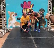 AUgite Hercosul leva pets e família para Parcão, em Porto Alegre