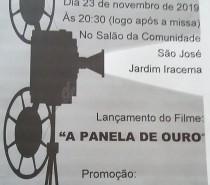 """EXIBIÇÃO DO FILME """"A PANELA DE OURO"""" sábado dia 23 no JARDIM IRACEMA"""