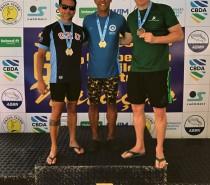 Alfonso Dávila trouxe duas medalhas à Natação do Recreio da Juventude, de Caxias do Sul