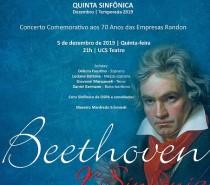 OSUCS | Quinta Sinfônica apresenta Nona Sinfonia de Beethoven