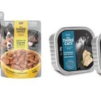 Hercosul lança novas linhas de sachês e patês para cães e gatos  as marcas Three Dogs e Three Cats