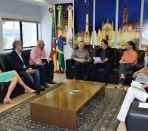 Mesa Diretora convida prefeito Cassina para parcerias e abertura do ano legislativo