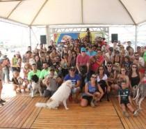 Cãominhada Hercosul movimenta pets e família no litoral gaúcho
