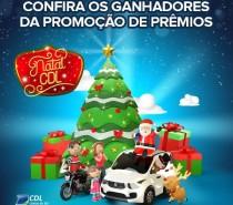 CDL Caxias divulga vencedores da campanha de Natal