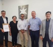 UCS e Embrapa Uva e Vinho assinam nota técnica para criação da denominação de origem de espumante natural 'Altos de Pinto Bandeira'