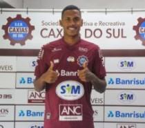 Centroavante Da Silva reforça o Caxias para o Gauchão