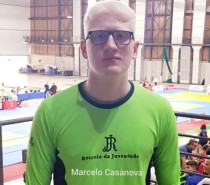 Atleta de judô do Recreio da Juventude, Marcelo Casanova, participa de estágio na Croácia