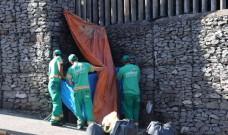 Codeca retira 20 toneladas de lixo no entorno do Mato Sartori