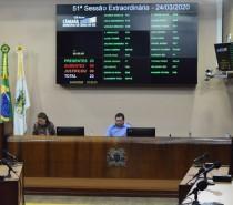 Sessões extraordinárias garantem liberdade econômica e cessão de uso de prédio público