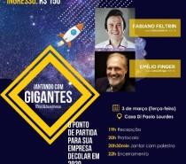 Jantando com Gigantes: evento reunirá empresários em Caxias do Sul