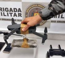 BM FRUSTRA ENTREGA DE DROGAS COM DRONE EM PENITENCIÁRIA DE CAXIAS DO SUL