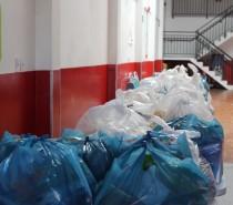 Vírus solidário: SER CAXIAS entrega uma tonelada de alimentos