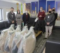 Campanha Caxias Contra a Covid-19 repassa doação de 29 cadeiras de rodas ao sistema de saúde público e particular de Caxias do Sul