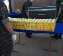 Cooperativa Nova Aliança doa mais de 600 litros de suco para comunidades da Serra Gaúcha