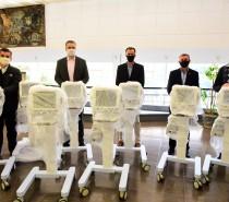 SIMECS, Empresas Randon e Marcopolo entregam ventiladores pulmonares para reforçar rede hospitalar da Serra Gaúcha