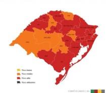 Modelo de Distanciamento: Caxias do Sul permanece na bandeira vermelha mais uma semana