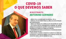 """SIMECS apresenta """"Covid-19: O que devemos saber"""""""