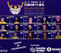 Rede Caminho do Saber realiza edição online de Jogos Robóticos com tema de Olimpíadas