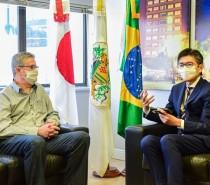 Prefeito recebe o novo cônsul do Japão no RS