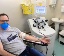Hemocs recebe funcionários do Grupo Todeschini para doação de plasma