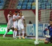 Inter derrota Atlético-GO por 2 a 1 e larga em vantagem nas oitavas da Copa do Brasil